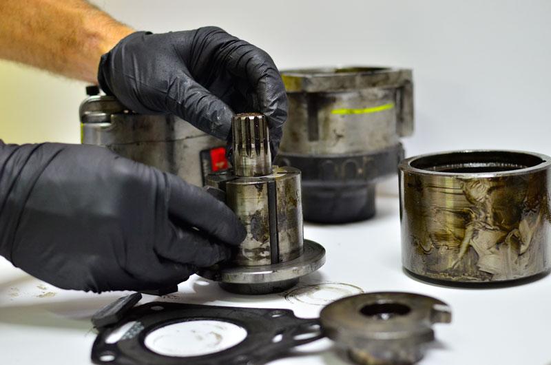 Reparación y mantenimiento de pistolas de impacto